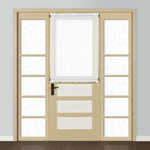 Monte Carlo White 40 x 59 In. Door Panel