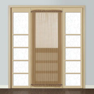Monte Carlo Taupe 72 x 28 In. Door Panel