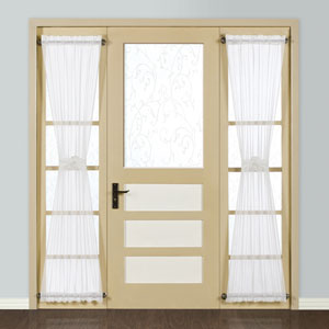 Monte Carlo White 72 x 28 In. Door Panel