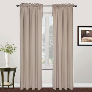 Metro Natural 108 x 54 In. Curtain Panel