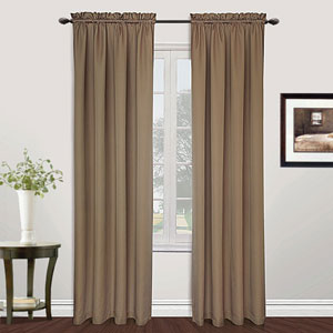 Metro Taupe 108 x 54 In. Curtain Panel