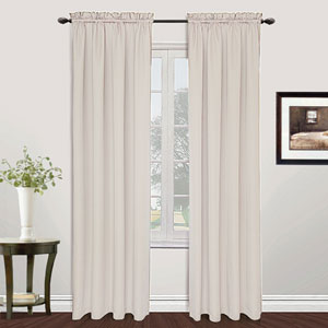 Metro Oyster 84 x 54 In. Curtain Panel