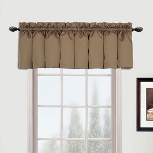 Metro Taupe 16 x 54 In. Topper