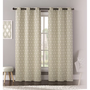Mystique Green 95 x 76 In. Curtain Panel Set, Set of Two