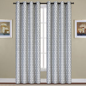 Oakland Blue 84 x 54 In. Curtain Panel