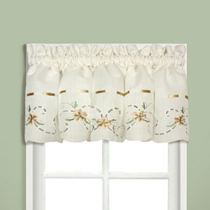 Rachael Taupe 12 x 60 In. Topper