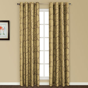 Sinclair Apple 63 x 54 In. Curtain Panel