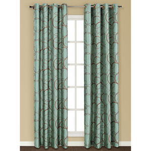 Sinclair Blue 63 x 54 In. Curtain Panel