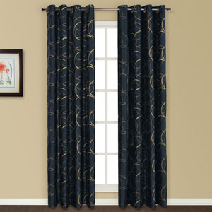 Sinclair Navy 84 x 54 In. Curtain Panel