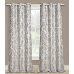 Taylor Natural 63 x 76 In. Curtain Panel Set, Set of Two