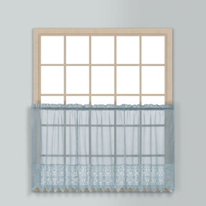 Valerie Blue 36 x 52 In. Kitchen Tier Pair, Set of Two