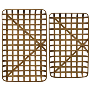Tray Paracel Bamboo Tray, Set of 2