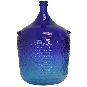 Ombre Sky Extra Large Glass Carafe