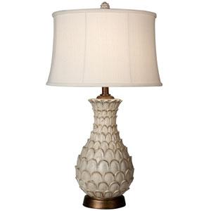 Jane Seymour White One-Light 31-Inch Table Lamp