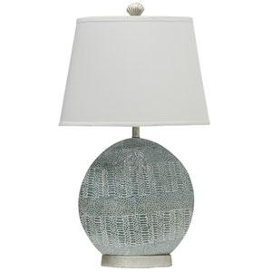 Jane Seymour Chartre Blue One-Light Table Lamp