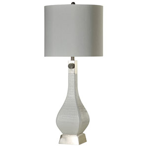 Jane Seymour White One-Light 38-Inch Table Lamp