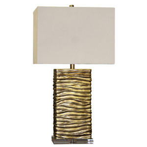Jane Seymour Gold One-Light Chateau Table Lamp