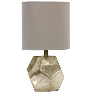 Mercury Glass One-Light 18-Inch Table Lamp