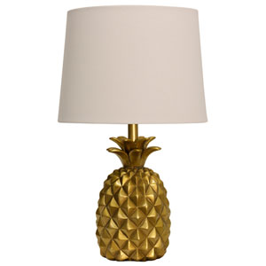 Gold One-Light Table Lamp