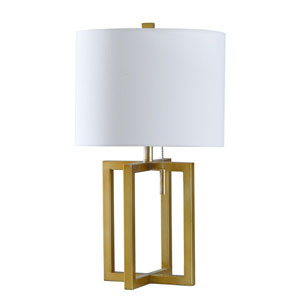 Marilou Solid Gold 22-Inch One-Light Table Lamp