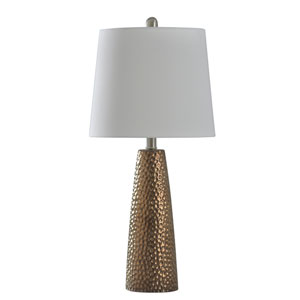 Christy Bronze 25-Inch One-Light Table Lamp