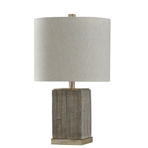 Seth Moroni and Shelby Silver 23-Inch One-Light Table Lamp