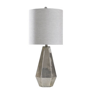 Lily Mercury Glass 30-Inch One-Light Table Lamp