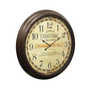 Brown Wall Clock