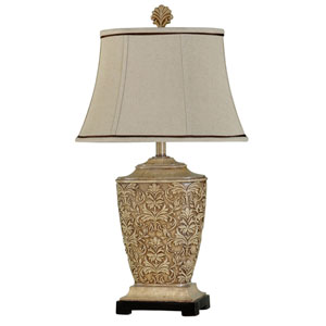 Tortola Cream One-Light 30-Inch Table Lamp