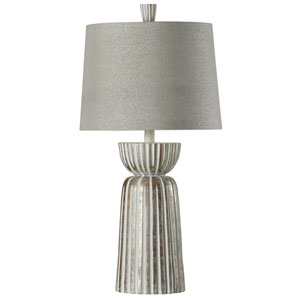 Mcallen Silver One-Light Table Lamp