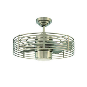 Enclave Satin Nickel 23-Inch LED Ceiling Fan