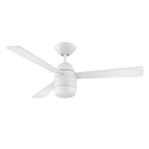 Antron White 42-Inch LED Ceiling Fan