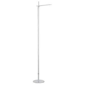 Torr Brushed Aluminum Integrated LED Floor Lamp