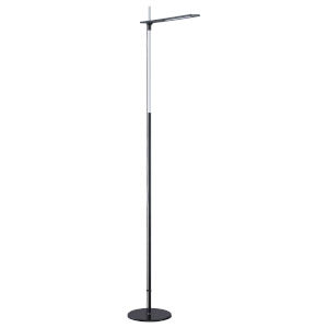 Torr Black Integrated LED Floor Lamp