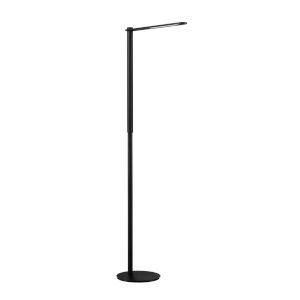 Dova Black 56-Inch Integrated LED Adjustable Floor Lamp
