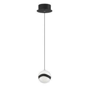 Mystyke Matte Black 5-Inch LED Mini Pendant