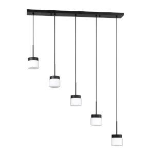 Nuon Black 38-Inch Five-Light Pendant