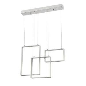 Quadron Aluminum 28-Inch Integrated LED Pendant