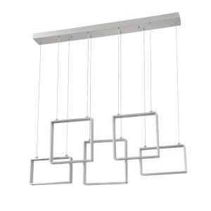 Quadron Aluminum 42-Inch Integrated LED Pendant