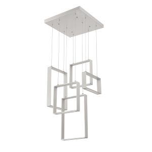 Quadron Aluminum 20-Inch Integrated LED Pendant