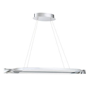 Serphus Chrome Integrated LED Pendant