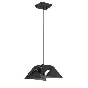 Metrica Black Integrated LED Mini Pendant