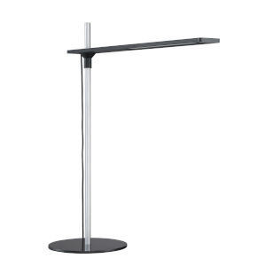 Torr Black Integrated LED Desk Lamp