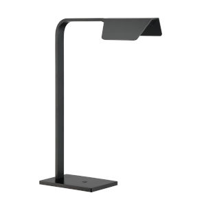 Mera Black 18-Inch Integrated LED Desk Lamp