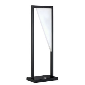 Voxx Black 20-Inch Integrated LED Table Lamp