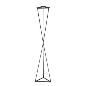 Zora Black 70-Inch Integrated LED Table Lamp