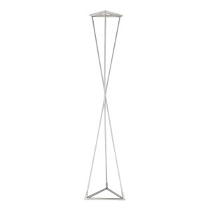 Zora Satin Nickel 70-Inch Integrated LED Table Lamp