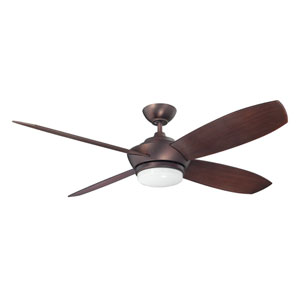 Zeta 52-Inch Oil Brushed Bronze with Matching Blades Ceiling Fan