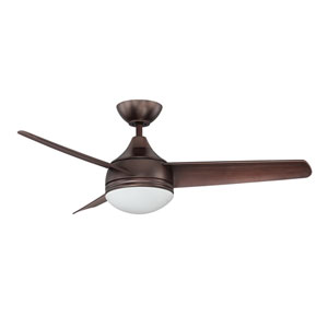 Moderno 42-Inch Oil Brushed Bronze with Matching Blades Ceiling Fan