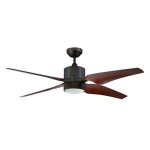 Nexor 52-Inch Architectural Bronze with Matching Blades Ceiling Fan